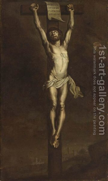 Christ On The Cross by (after) Dyck, Sir Anthony van - Reproduction Oil Painting