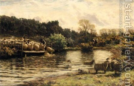 The Crossing Place by David Farquharson - Reproduction Oil Painting