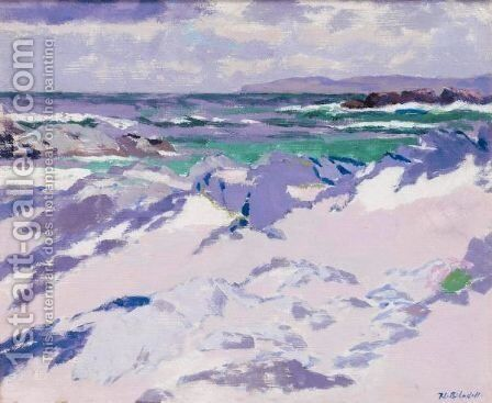 Treshnish Point, Iona by Francis Campbell Boileau Cadell - Reproduction Oil Painting