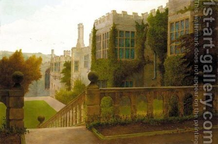 Haddon Hall by Edward William Cooke - Reproduction Oil Painting