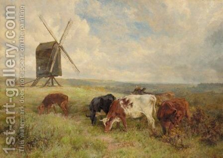 The Black Mill by Charles Collins - Reproduction Oil Painting