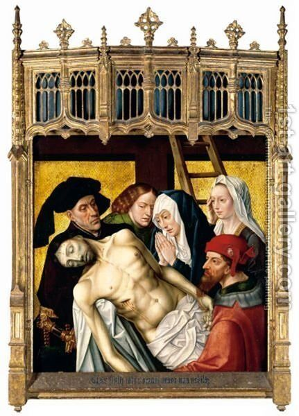 The Lamentation by (after) Goes, Hugo van der - Reproduction Oil Painting