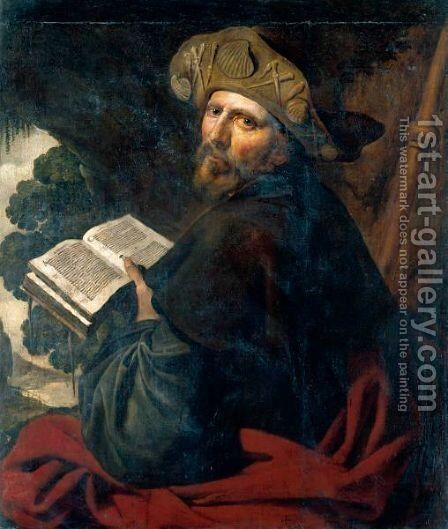 Saint James The Greater by Artus Wolffort - Reproduction Oil Painting