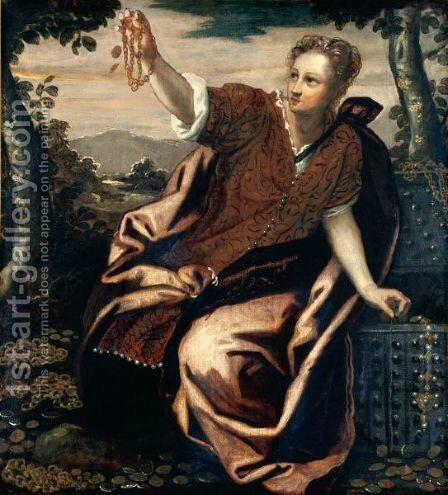 Pandora (An Allegory Of Generosity) by Domenico Tintoretto (Robusti) - Reproduction Oil Painting