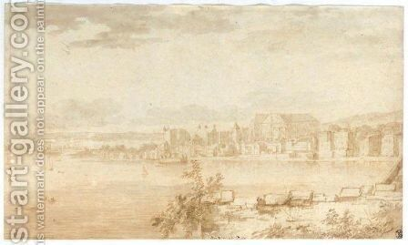 View Of London, Looking Towards Westminster by Jan Lievens - Reproduction Oil Painting