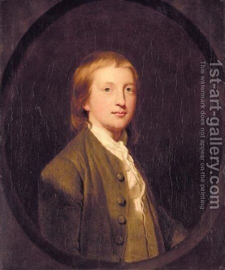 Portrait Of Francis Godolphin Osborne, 5th Duke Of Leeds (1751-1799) by (after) Sir Joshua Reynolds - Reproduction Oil Painting