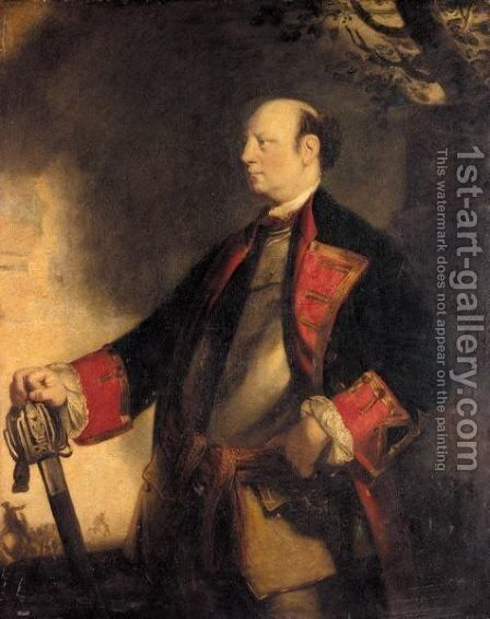 Portrait Of John Manners, Marquess Of Granby by Sir Joshua Reynolds - Reproduction Oil Painting