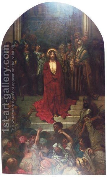 'Ecco Homo' by Gustave Dore - Reproduction Oil Painting