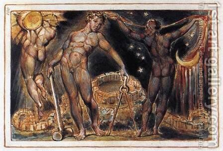 Los 1804-20 by William Blake - Reproduction Oil Painting