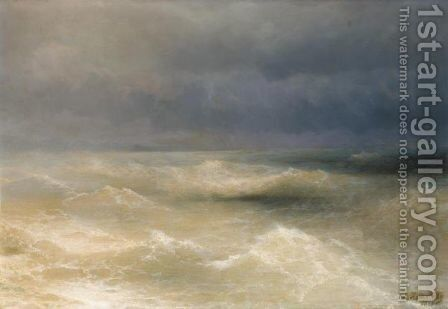 The Black Sea by (after) Ivan Konstantinovich Aivazovsky - Reproduction Oil Painting