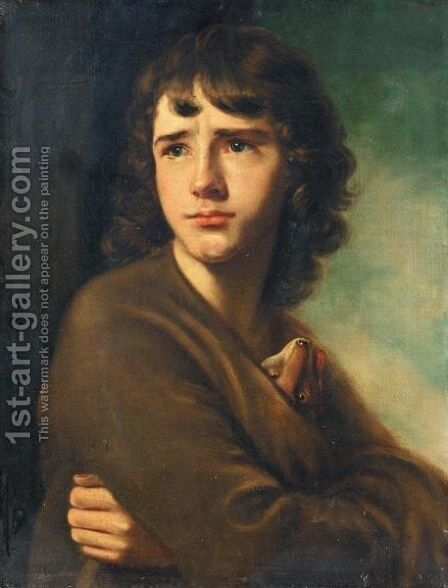 The Spartan Boy - John Camillus Hone (1745-1836), Son Of The Artist by Nathaniel Hone - Reproduction Oil Painting