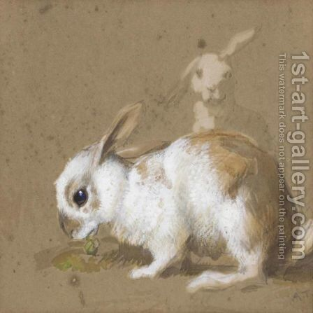 Rabbits by Archibald Thorburn - Reproduction Oil Painting