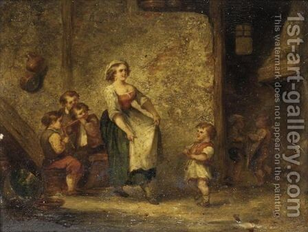 The Dance by Martin Domicent - Reproduction Oil Painting