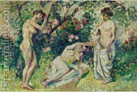 Nus by Henri Edmond Cross - Reproduction Oil Painting
