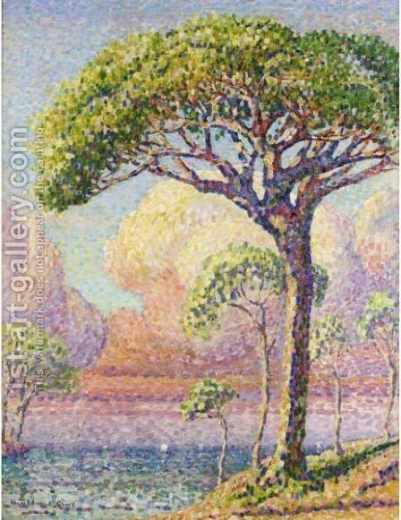 Un Pin by Henri Edmond Cross - Reproduction Oil Painting