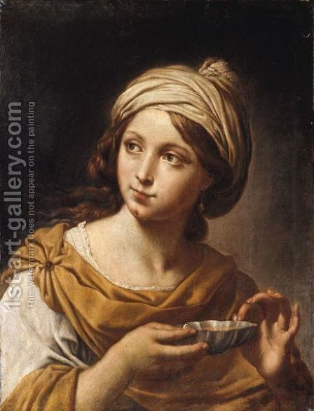 Sofonisba by (after) Giovanni Andrea Sirani - Reproduction Oil Painting