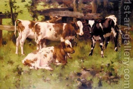 First Steps by David Gauld - Reproduction Oil Painting