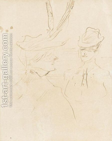 Jane Granier by Toulouse-Lautrec - Reproduction Oil Painting