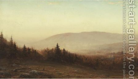 Mount Desert Island, Maine by Dwight William Tryon - Reproduction Oil Painting