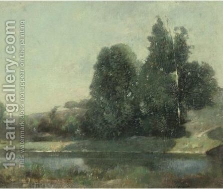 The Inlet by Emil Carlsen - Reproduction Oil Painting