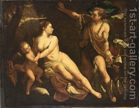 After The Original Of Circa 1588-9 In The Museo Del Prado, Madrid by Annibale Carracci - Reproduction Oil Painting