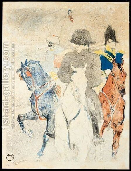 Napoleon by Toulouse-Lautrec - Reproduction Oil Painting