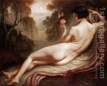 Reverie by Armand Point - Reproduction Oil Painting