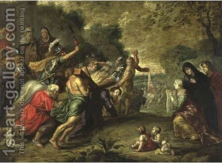 Via Dolorosa by (after) Willem Van, The Elder Herp - Reproduction Oil Painting