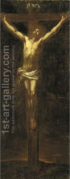 Crucifixion 2 by (after) Dyck, Sir Anthony van - Reproduction Oil Painting