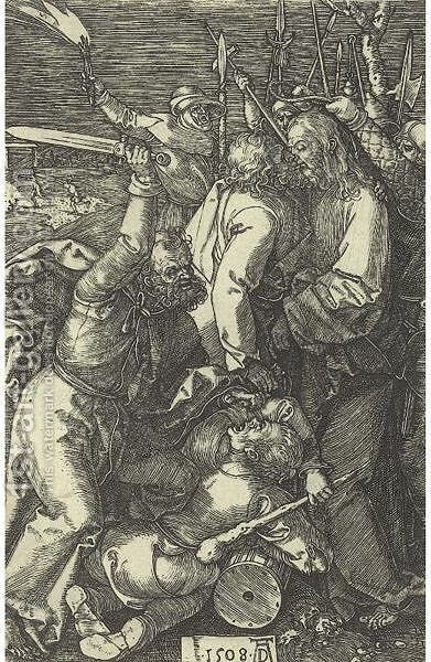 The Betrayal Of Christ by Albrecht Durer - Reproduction Oil Painting