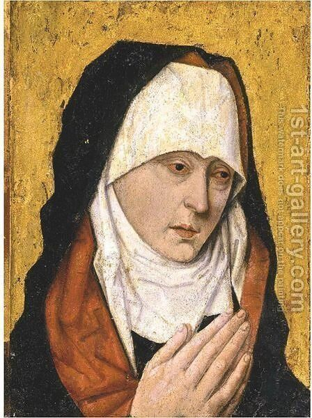 Mater Dolorosa by (after) Dieric The Elder Bouts - Reproduction Oil Painting
