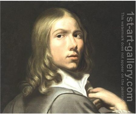 Portrait Of A Young Boy by (after) Jacob Van, The Elder Oost - Reproduction Oil Painting