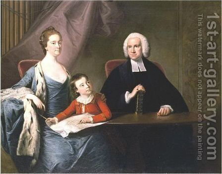 The Fountayne Family by (after) Bernard Downes - Reproduction Oil Painting