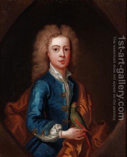 Portrait Of A Boy by (after) Kneller, Sir Godfrey - Reproduction Oil Painting
