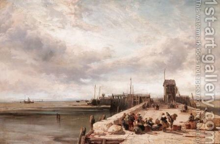 Honfleur by James Webb - Reproduction Oil Painting