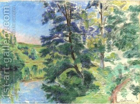 Paysage De La Creuse 8 by Armand Guillaumin - Reproduction Oil Painting