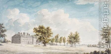 Cole Green, Hertfordshire by Charles Gore - Reproduction Oil Painting
