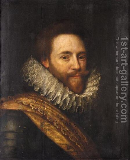 Portrait Of Stadholder Frederick Hendrick, Prince Of Orange (1584 - 1647) by (after) Michiel Jansz. Van Mierevelt - Reproduction Oil Painting