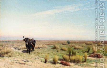 The Camargue by Ivan Pranishnikov - Reproduction Oil Painting