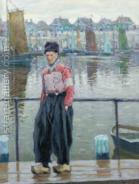 The Dutchman by Arnold Borisovich Lakhovsky - Reproduction Oil Painting