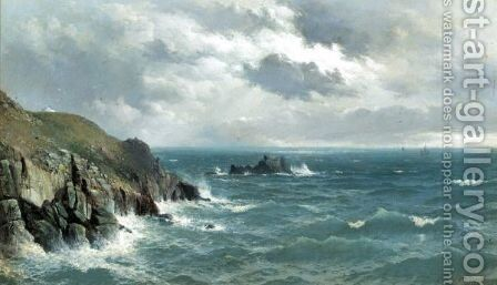 Lands End by David James - Reproduction Oil Painting