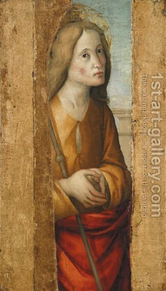 Figura Di Santo by (after) ALBA, Macrino D' Alba - Reproduction Oil Painting