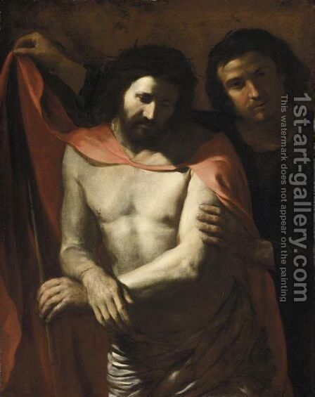 Ecce Homo 5 by Italian School - Reproduction Oil Painting
