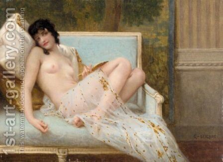 Indolence by Guillaume Seignac - Reproduction Oil Painting
