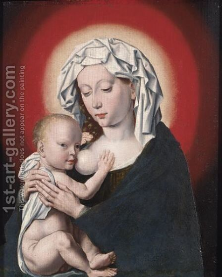 The Madonna And Child 2 by (after) Cleve, Joos van - Reproduction Oil Painting