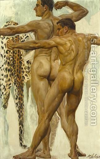 Attitudes by Max Seliger - Reproduction Oil Painting