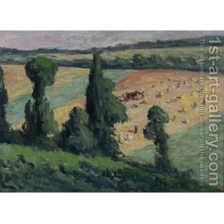 Paysage 2 by Maximilien Luce - Reproduction Oil Painting