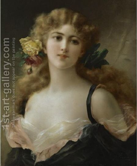 Fair As The Morning by Emile Vernon - Reproduction Oil Painting