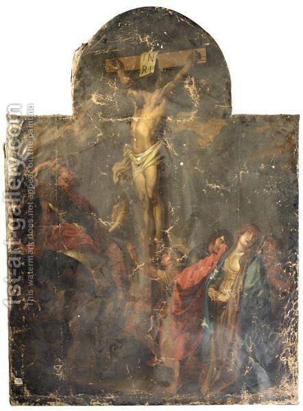 The Crucifixion 6 by (after) Sir Peter Paul Rubens - Reproduction Oil Painting