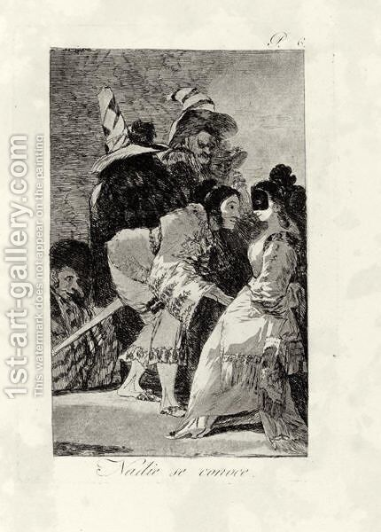 Los Capricho by Goya - Reproduction Oil Painting